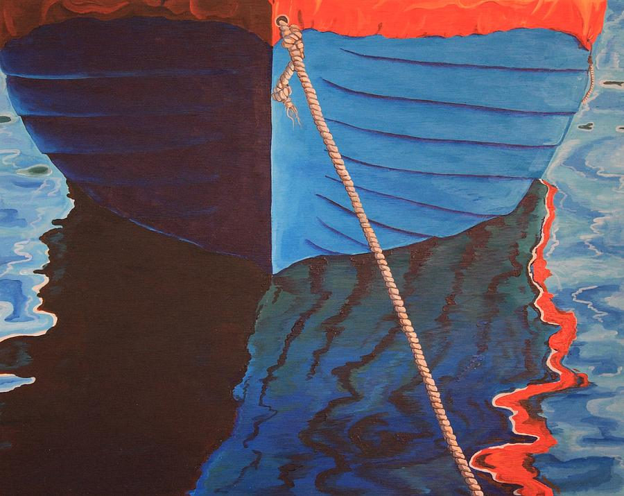 Boat Painting - The Boat by Jennifer Lynch