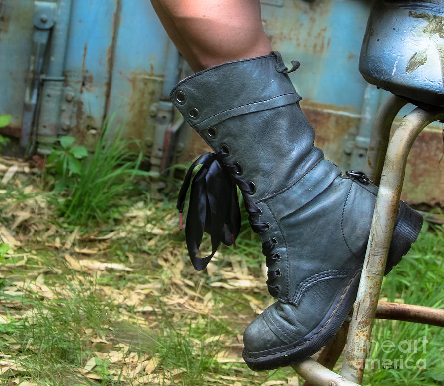 Boots Photograph - The Boot  by Steven Digman