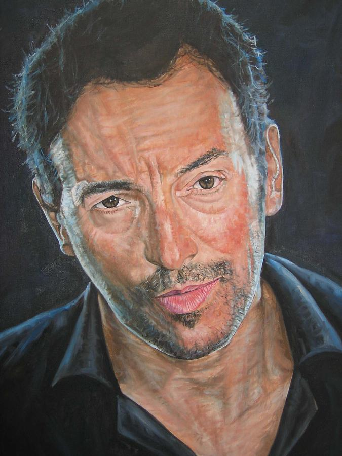 Bruce Springsteen Painting - The Boss by Jason  Swain