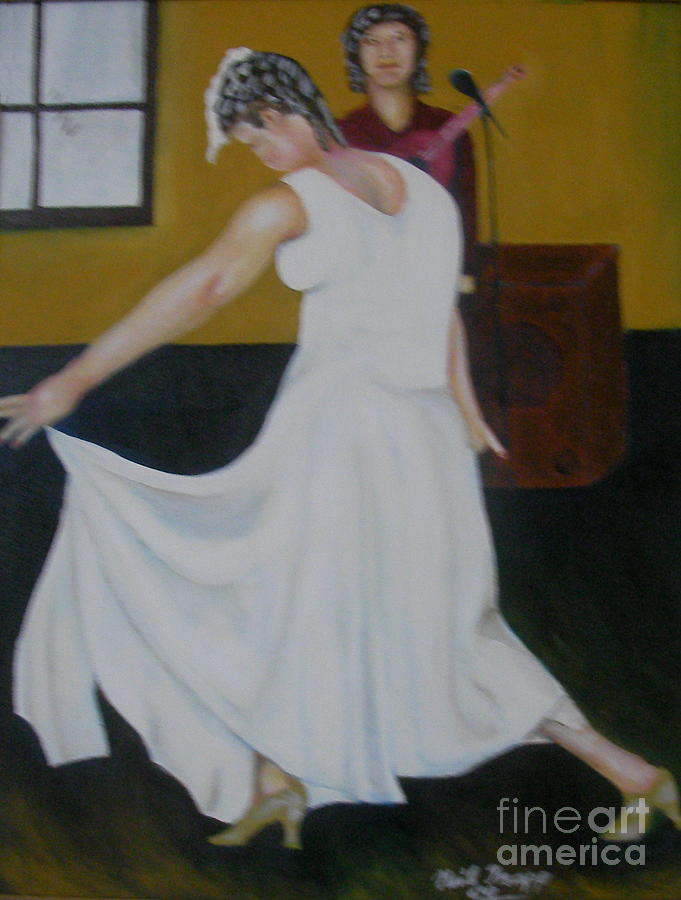 Dance Painting - The Bow by Neil Trapp
