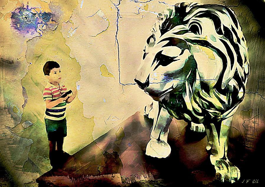 The Boy And The Lion Graffiti Creator Street Art Graffiti Street Art