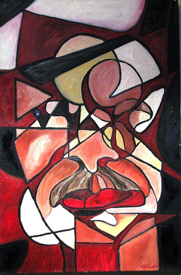 Abstract Painting - The Brain Surgeon  by Patricia Arroyo