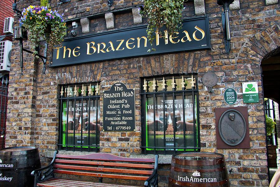 Pub Photograph - The Brazen Head Pub by Marisa Geraghty Photography