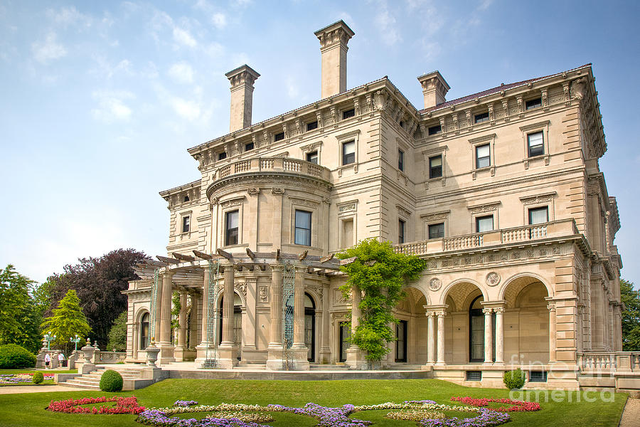Architecture Photograph - The Breakers by Susan Cole Kelly