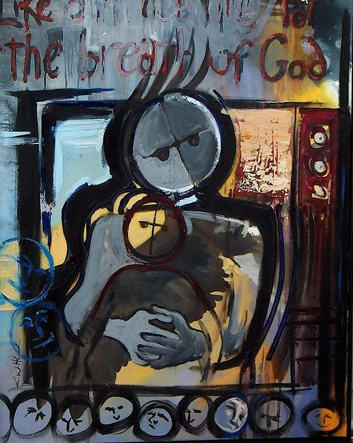 Painting Painting - The Breath Of God by Robert Walker