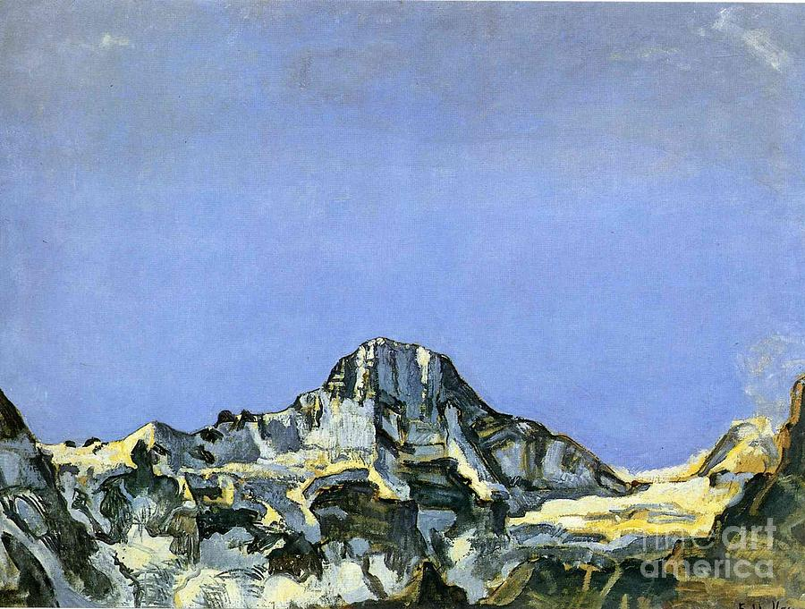 Ferdinand Hodler Painting - The Breithorn by MotionAge Designs