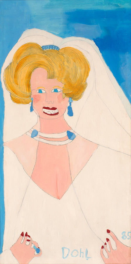 Princess Diana Painting by Don Larison