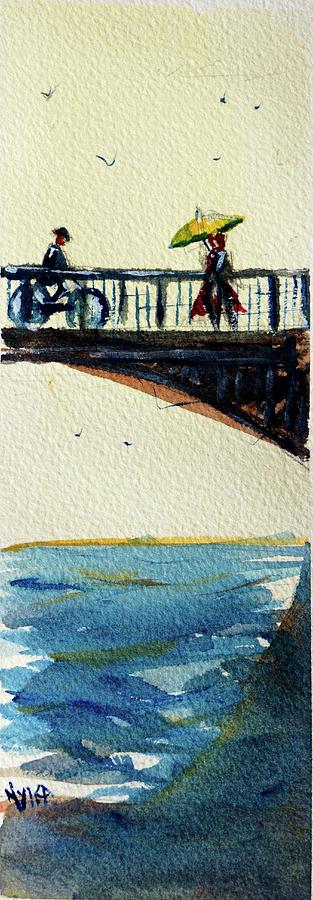 The Bridge Painting by James Nyika