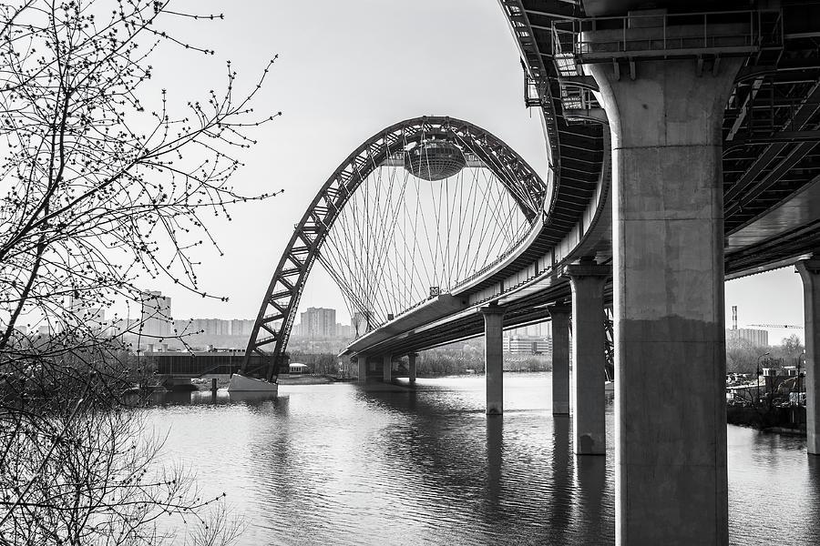 Bridge Photograph - The Bridge by Konstantin Bibikov