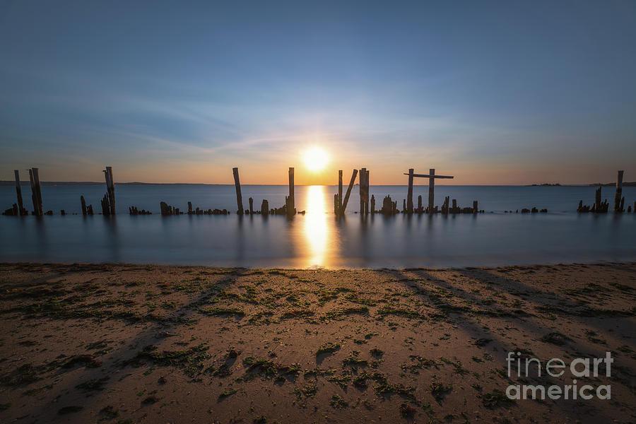 Bridge Of Light Photograph - The Bridge Of Light  by Michael Ver Sprill