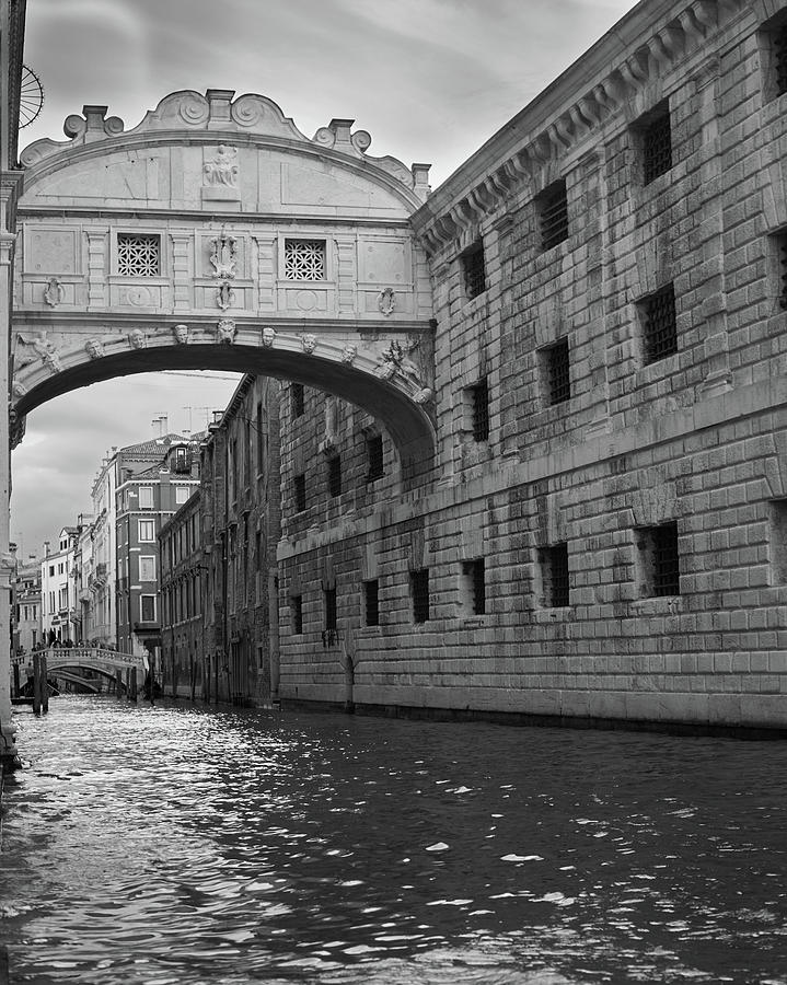 The Bridge of Sighs, Venice, Italy by Richard Goodrich