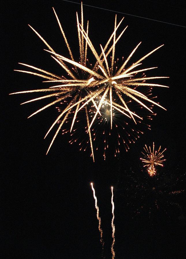 Fireworks Photograph - The Bright Idea by Edward Congdon