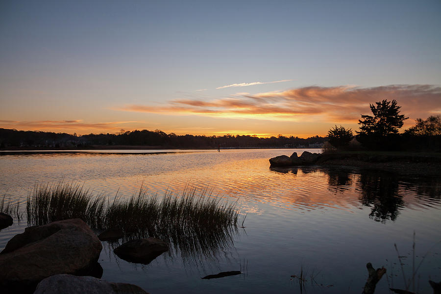 The Brink - Pawcatuck River Sunrise Photograph