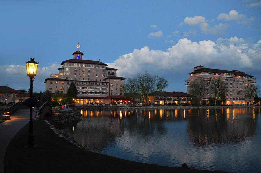 The Broadmoor Resort - Lake View -2, Colorado Springs by Alex Vishnevsky