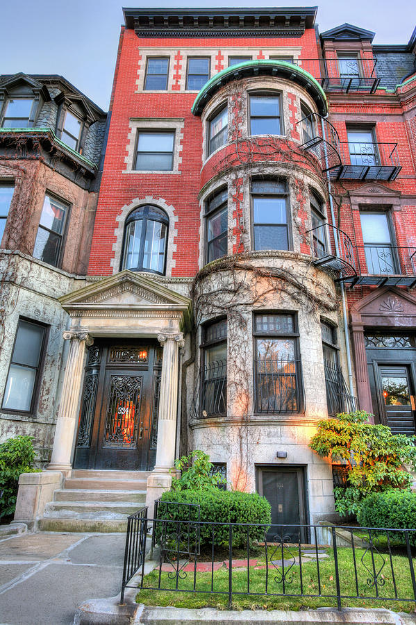 The Brownstone Photograph - The Brownstone  by JC Findley