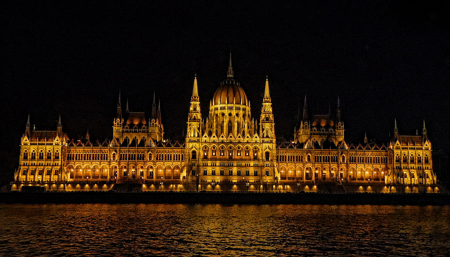 The Budapest Parliament by Deborah Jahier