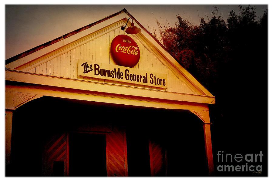 Burnside Photograph - The Burnside General Store by Scott Pellegrin