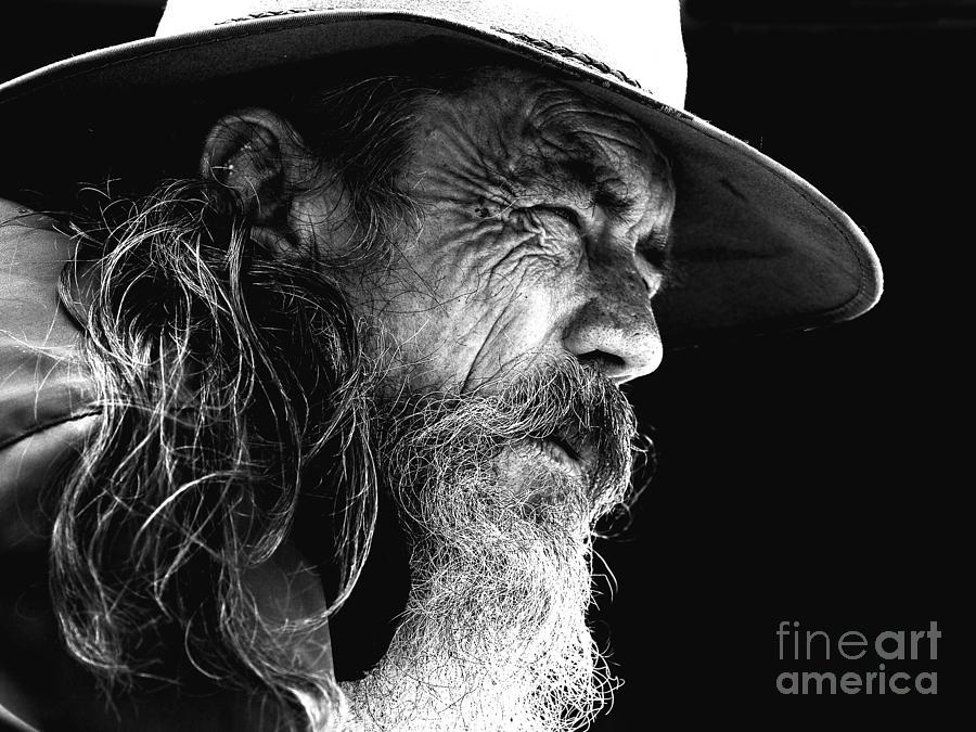 The Bushman Photograph by Sheila Smart Fine Art Photography
