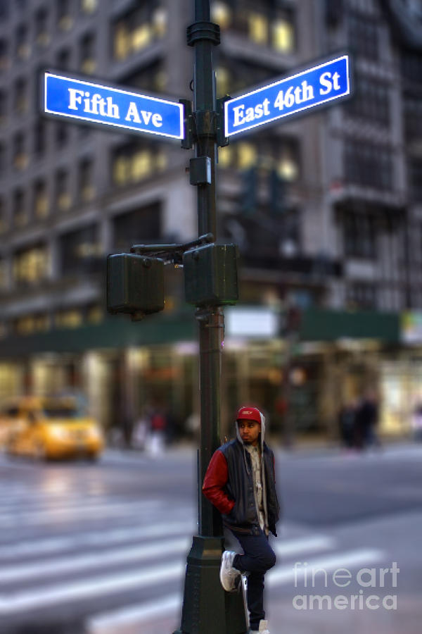 Nyc Photograph - The Busy Streets by Parker ODonnell