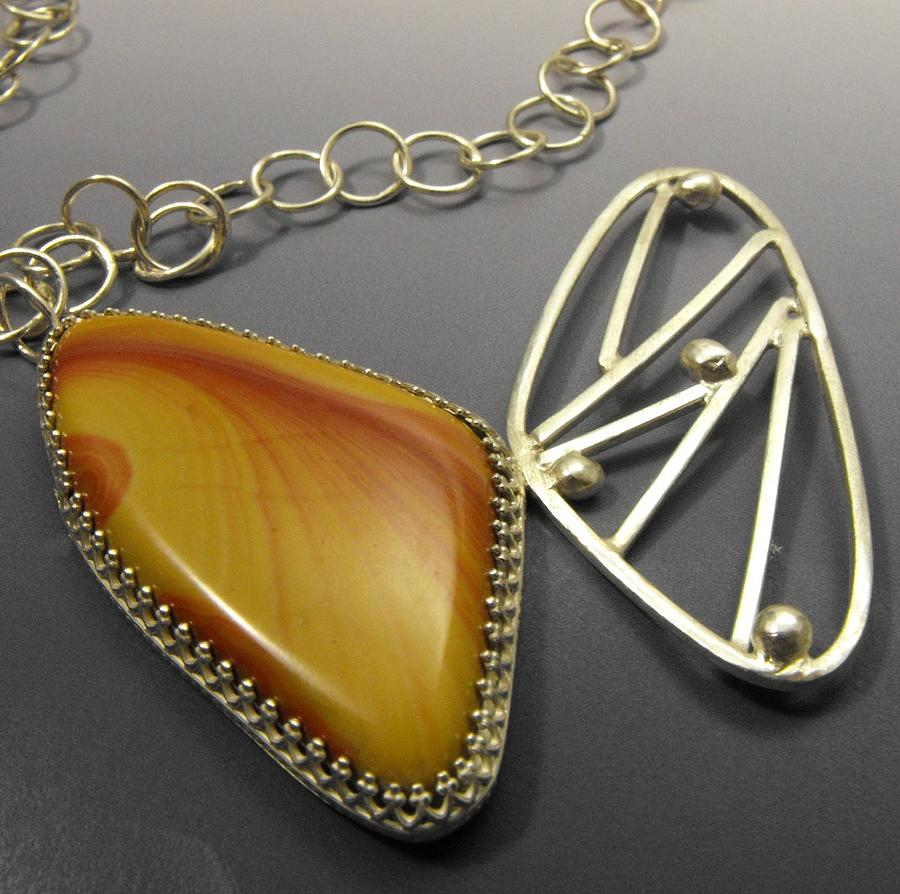 Necklace Jewelry - The Butterfly by Aimee Koester