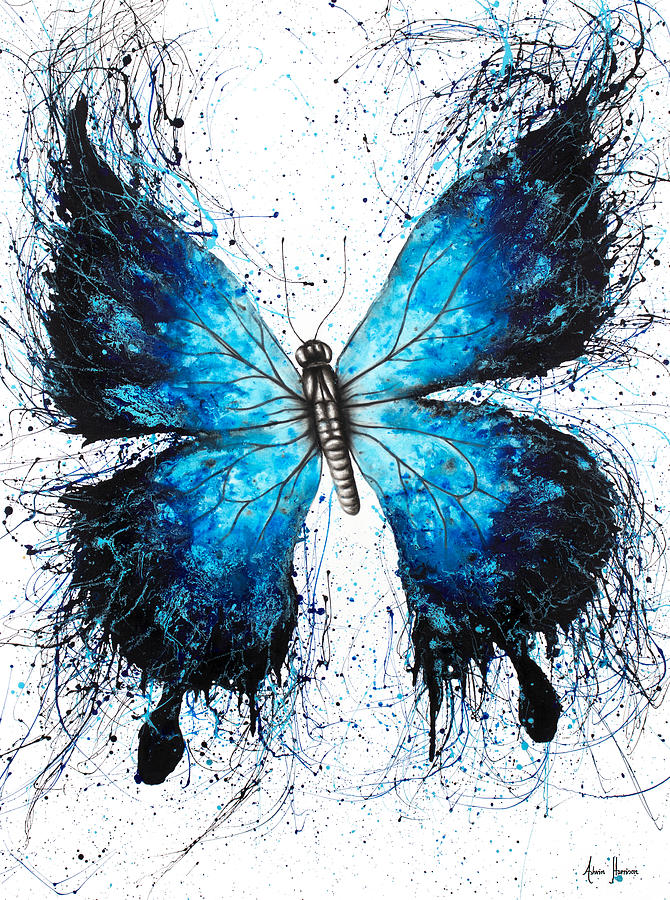 3c9c78a93 Butterfly Painting - The Butterfly Tattoo by Ashvin Harrison