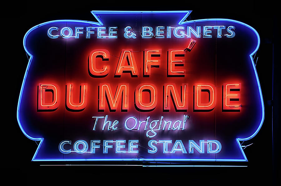 Cafe Du Monde Photograph - The Cafe Du Monde by JC Findley