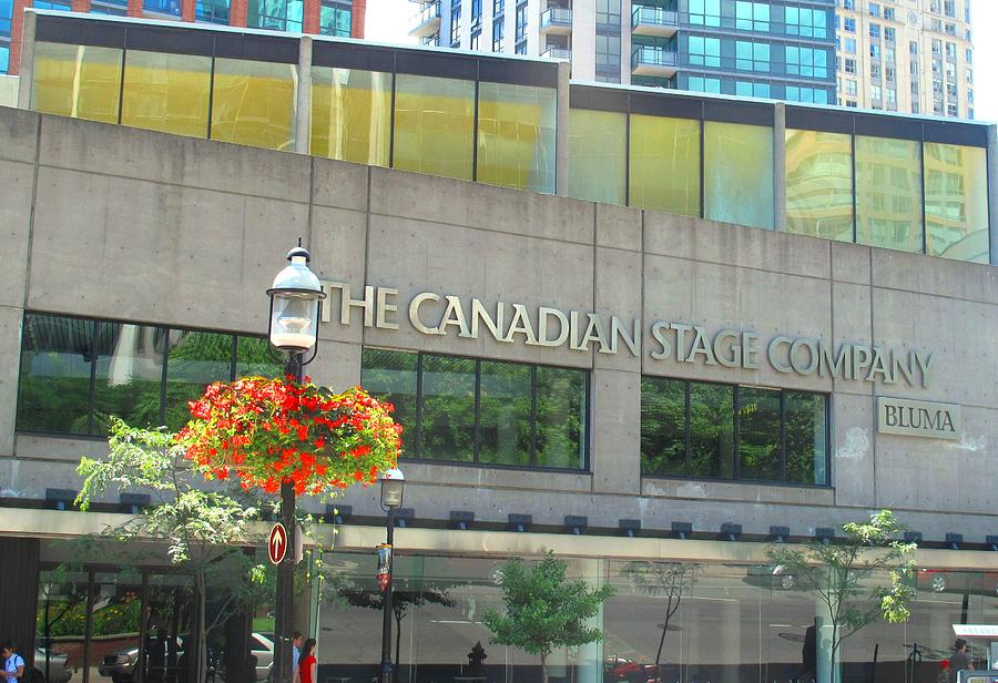 Canada Photograph - The Canadian Stage Company by Ian  MacDonald