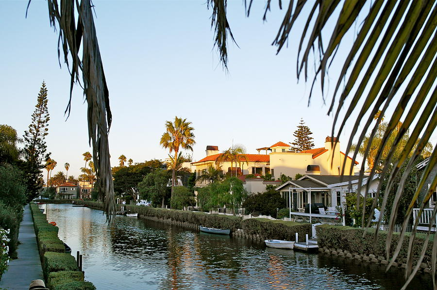 The Canals of Venice - California by Michele Myers