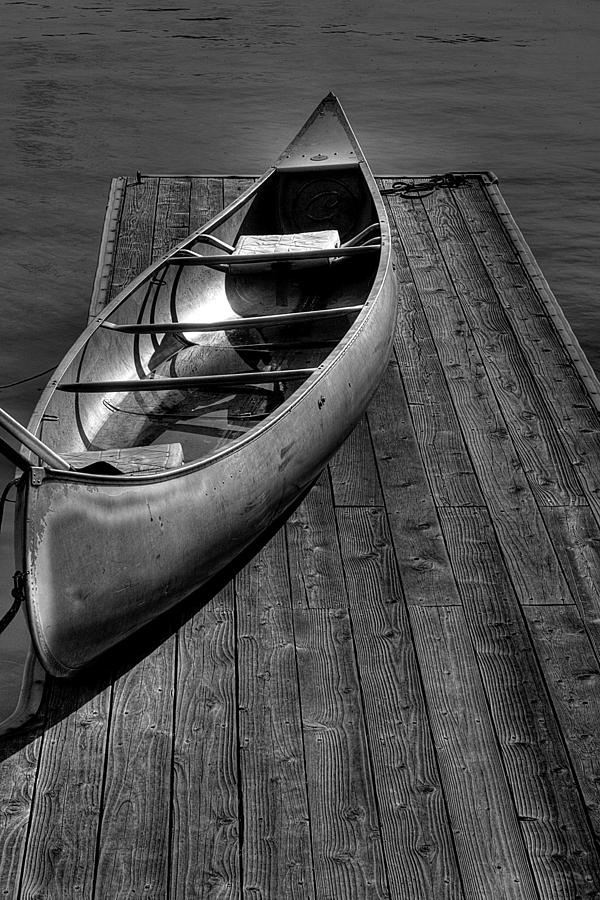 Canoe Photograph - The Canoe by David Patterson