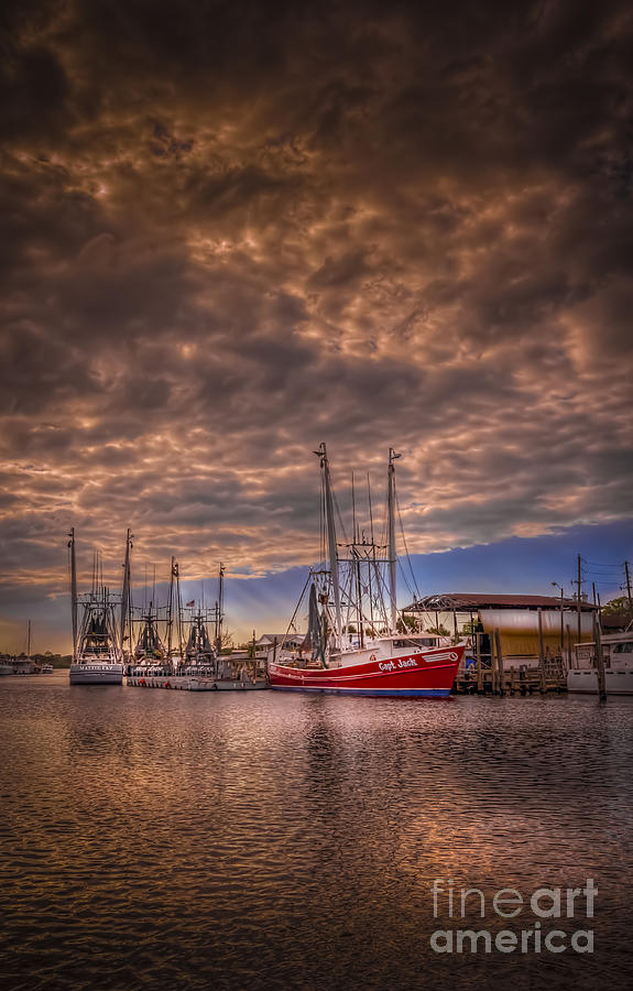 Clouds Photograph - The Captain Jack by Marvin Spates