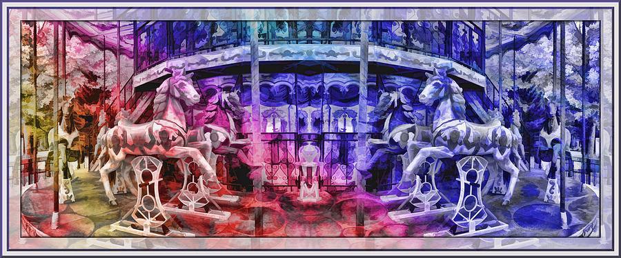 Lisbon Photograph - The Carousel Of Alice   by Daniel Arrhakis