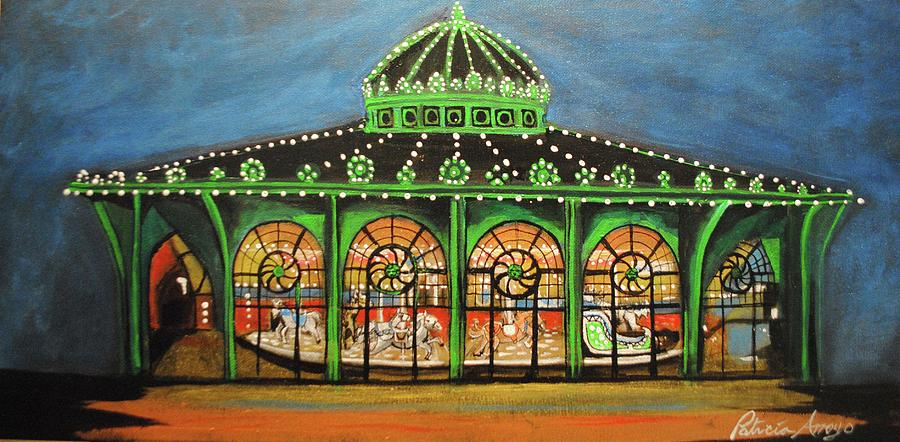 The Carousel of Asbury Park by Patricia Arroyo