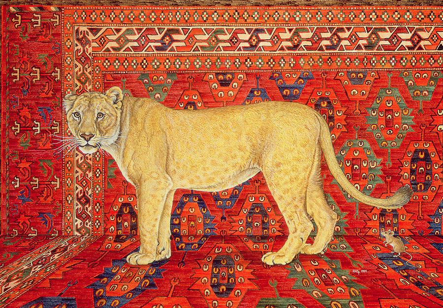 Αποτέλεσμα εικόνας για the lion and the mouse fine art america