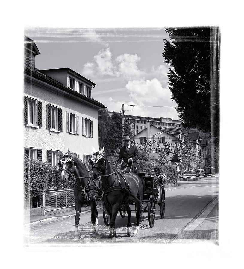 Carriages Photograph - The Carriage by Dania Reichmuth