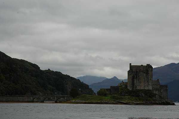 Scotland Photograph - The Castell Of Loch Duich Scotland by Adrian Brown