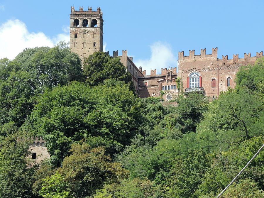 Castle Photograph - The Castle Of Camino by Guido Strambio