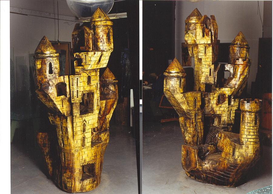 Fantasy Sculpture - The Castle by Rick Silas