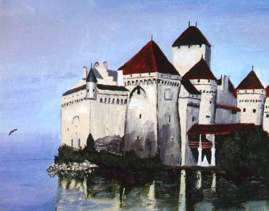 Castle Painting - The Castle by Stan Hamilton