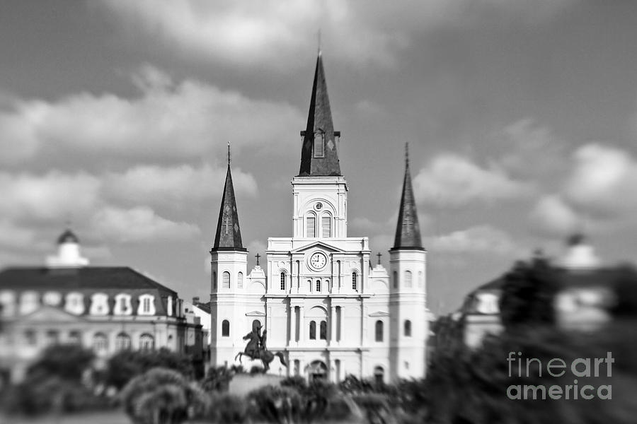 St. Louis Cathedral Photograph - The Cathedral by Scott Pellegrin
