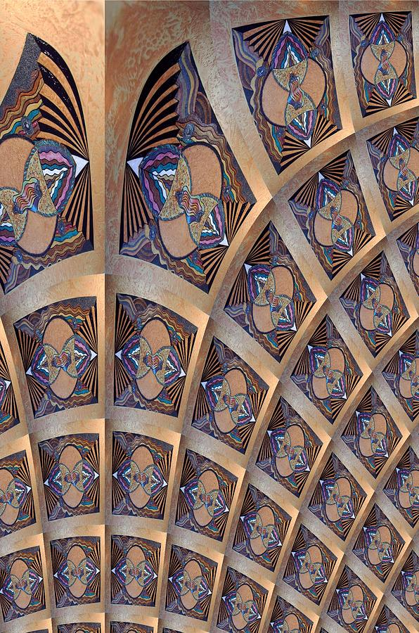Arch Photograph - The Ceiling by Ricky Kendall