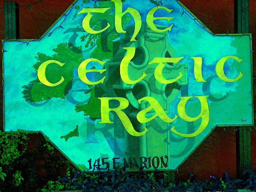Ireland Painting - the Celtic Ray by Charles Peck