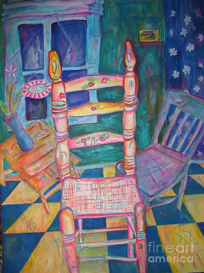 Chairs Painting - The Chair 2 by Marlene Robbins