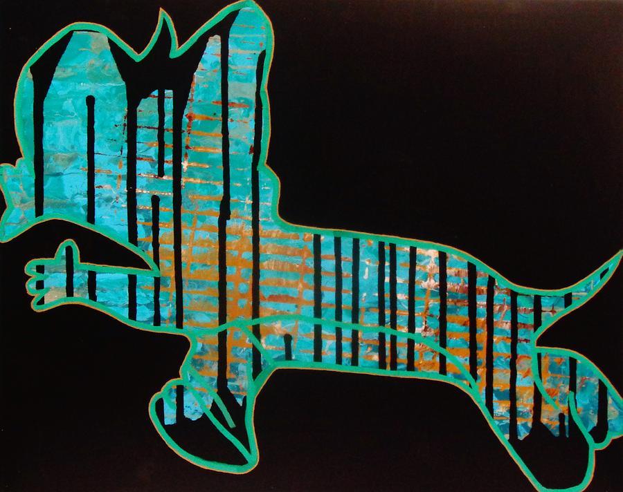 Acrylic Painting - The Rundown by Dane Newton