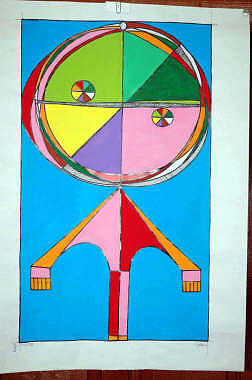 The Child Of Paul Klee Painting by Damiano Gulluni