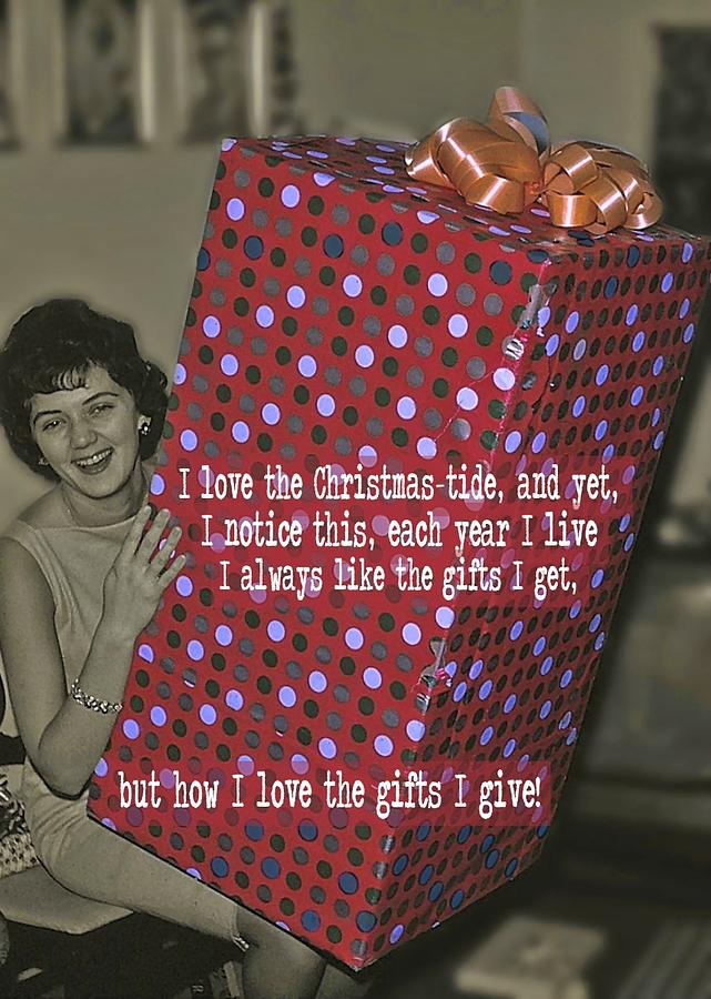 Christmas Photograph - The Christmas Story Quote by JAMART Photography