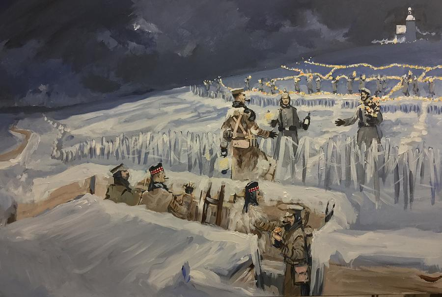 Christmas Truce Of 1914.The Christmas Truce 1914