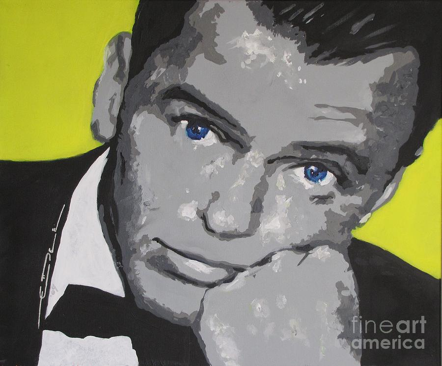 Frank Sinatra Painting - The Chrysalid  by Eric Dee