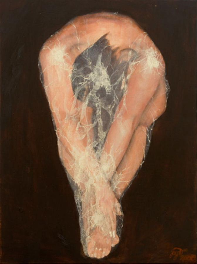 Figurative Painting - The Chrysalis by Jane  Simpson