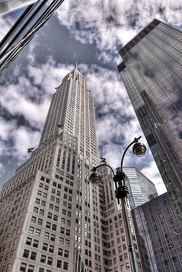 Chrysler Photograph - The Chrysler Building In Nyc Usa by Robert Ponzoni