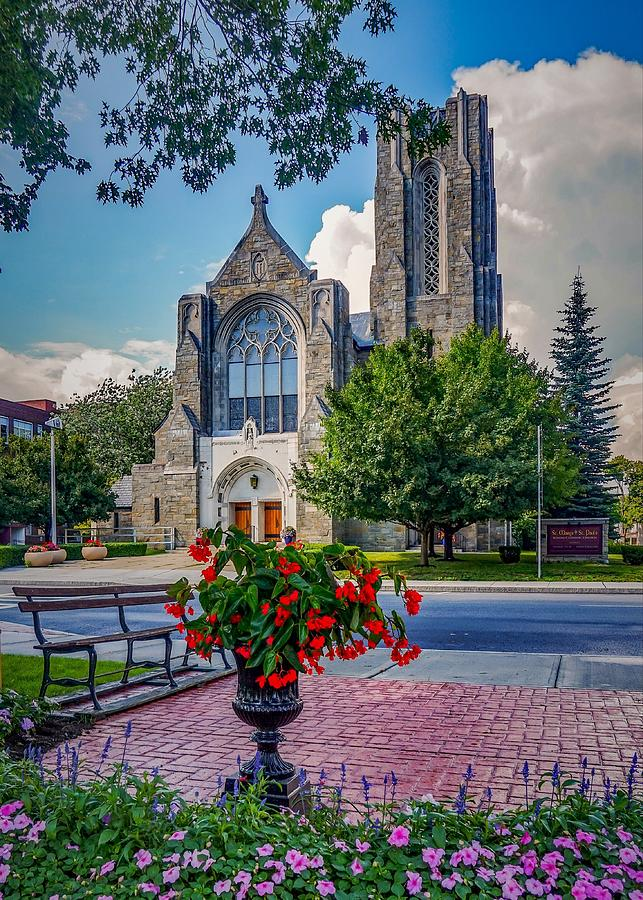 The church in summer Photograph by Kendall McKernon